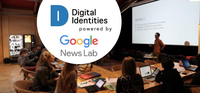 digital identities powered by google news lab